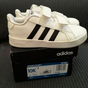 Adidas Grand Court Sneaker Size 10k Toddler